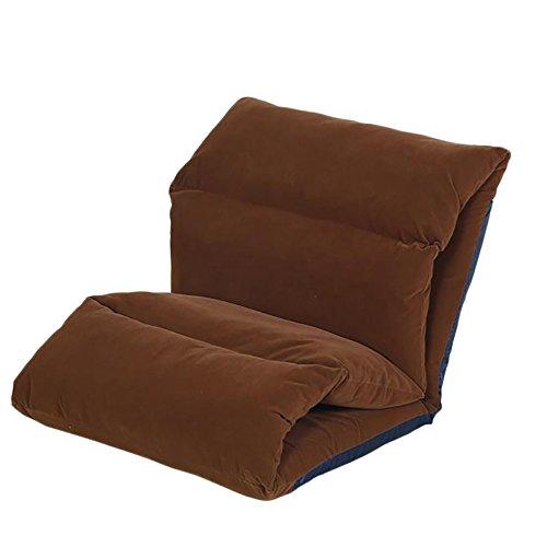 G-Y Lazy Sofa, Einzel-Sofa-Matratze, Klappsofa (kann Waschbar Sein) (Farbe : Braun)