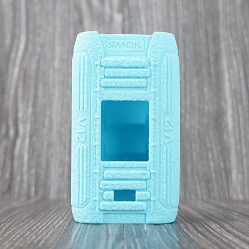 CEOKS for SMOK I-PRIV 230W Silicone Case, Anti-Slip Protective Silicone Case Skin Rubber Cover for SMOK I-PRIV 230W Pod Starter Kit TC Mod Box Rubber case wrap Shield (Tiffany Blue)