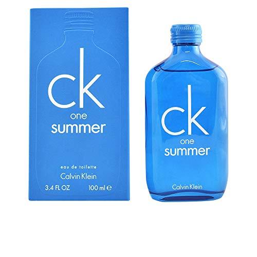 Profumo Calvin Klein CK ONE Summer Edition, Eau De Toilette, 100 ml - Profumo unisex