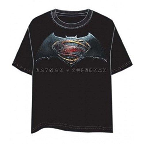 comic studio cce3239m Batman vs Superman–Camiseta (Tamaño Mediano)