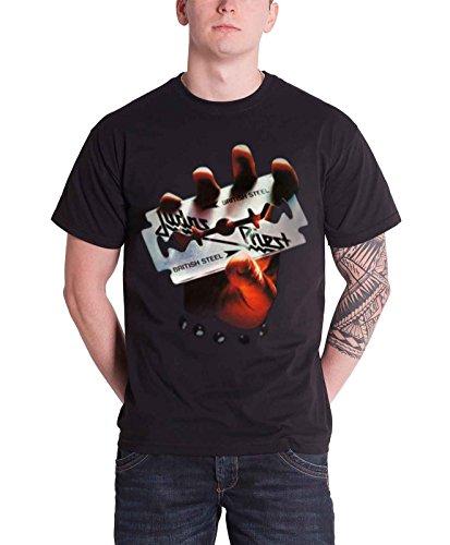 Rockoff Trade Herren British Steel T-Shirt, Schwarz, XL