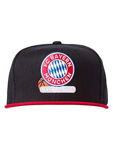 FC Bayern München Basketball M&N Snapback Black/red