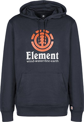 Herren Kapuzenpullover Element Vertical Hoodie, eclipse navy, Gr. M