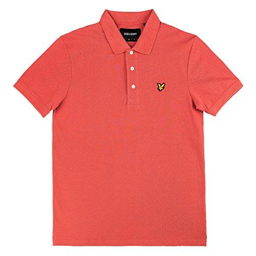 Lyle & Scott Polo Shirt Plain Polo, Größe:M, Farbe:Sunset Pink