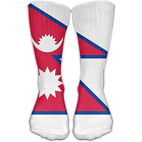 Medias De Compresión Bandera De Nepal Sobre La Compresión Graduada Lo Mejor Para Enfermería Médica Casuel Vuelo Hermoso Regalo Moda Personalizar Correr Calcetines Largos Y Largos Medias Senderis