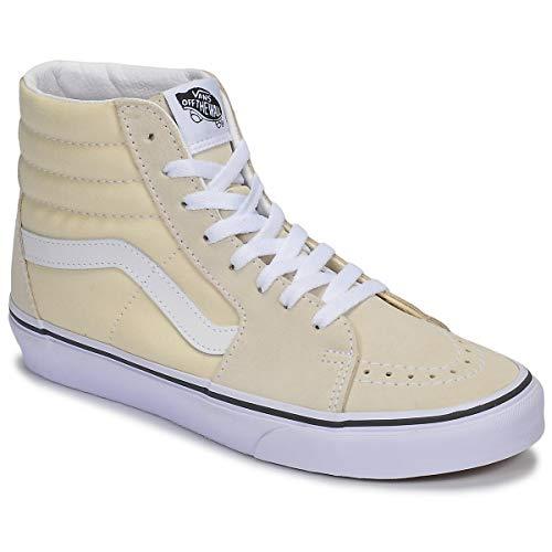 Vans Sk8-hi Zapatillas Moda Hombres Beige - 41 - Zapatillas Altas Shoes