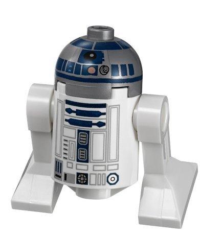 LEGO Star Wars Minifigur Astromech Droid R2-D2 mit Metallic Kopf Episode III Ep. 3
