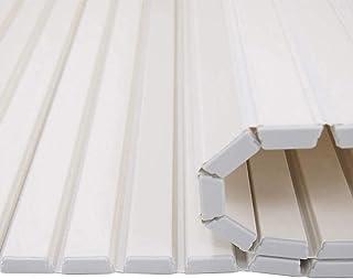 バスタブボードバスタブ絶縁カバーPVCバスパネルバスタブカバーバスタブトレイ折りたたみ式絶縁カバー防塵マウント環境保護バスルームトレイ(サイズ:751201.2cm)