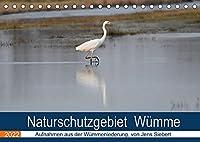 Naturschutzgebiet Wuemme (Tischkalender 2022 DIN A5 quer): Ein Fotokalender mit Aufnahmen aus der Wuemmeniederung, von Jens Siebert (Monatskalender, 14 Seiten )