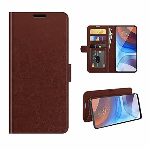 Coque OnePlus Nord CE 5G R64 Funda Unilateral Izquierda y Derecha para teléfono móvil OnePlus Nord CE 5G R64 Funda Protectora-Marrón