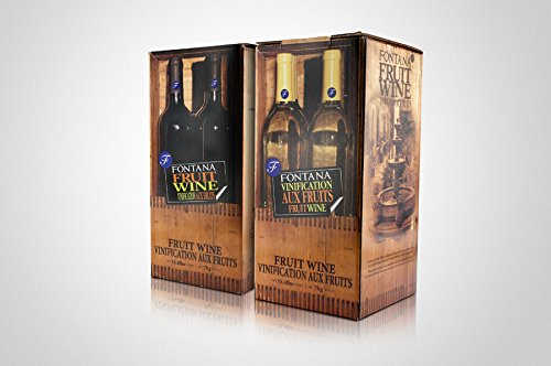 Fontana Hand Crafted Fruit Wine Kit - 5.8 Lt. - Florida Blueberry/Pomegranate