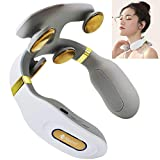 Noova Neck Massager with Heat Plus Meridian Energy Acupuncture Pen for Neck Pain Relief, Cordless Neck Massager for Pain Relief, Neck Relax and Neck Massage, Neck Massager for Women and Men