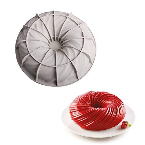 Molde para hornear mousse francés de bola de pelo grande, molde para pasteles, herramientas para hornear de bricolaje, nuevo molde para rosquillas (Molde de torta)