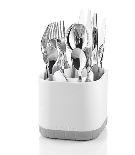 Guzzini Scolaposate Fill&Drain Kitchen Active Design, Grigio Chiaro, 13 x 13 x h12.4 cm