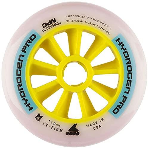 Rollerblade Ruedas Hydrogen Pro 110Mm XX-Firm (8) Blanco