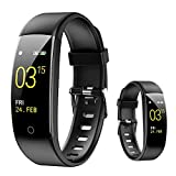 HQPCAHL Smart Watch, 0.96'Pantalla táctil Fitness Watch Trackers Smartwatch IP67 Impermeable Monitor de Ritmo cardíaco Podómetro Contador de Pasos Monitor de sueño Cronómetro para Hombres Mujeres