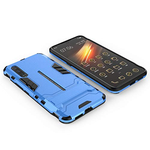 Yoodi Vivo iQOO Pro 5G Case, Armor Hybrid Shockproof Case with Invisible Kickstand 2 in 1 Dual Layer Protection Cover for Vivo iQOO Pro 5G - Blue