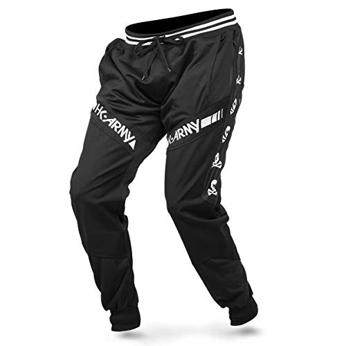HK Army Paintball Pants - TRK Joggers (Small, HK Skull Black)
