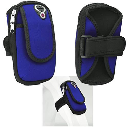 Supercase24 Sport Armband für Archos 50 Cobalt Handy Hülle Tasche Schutzhülle Case Fitness Armtasche