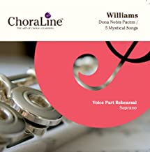 Vaughan Williams Dona Nobis Pacem / Five Mystical Songs SOPRANO Rehearsal CD