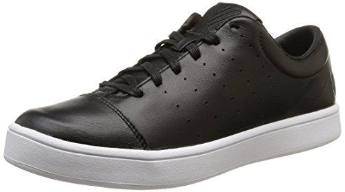 K-SwissWashburn - Sneaker uomo, Nero (Nero (Black/White)), 41