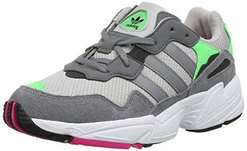adidas Yung-96 J, Scarpe da Fitness Unisex-Adulto, Grigio Grey Two F17 Grey Three F17 Shock Pink Grey Two F17 Grey Three F17 Shock Pink, 39 1/3 EU