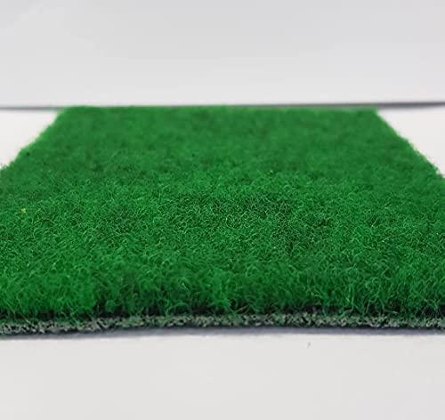 Césped sintético compacto para interior y exterior – Grosor 0,55 cm. Drenante y resistente (1 x 2 m)