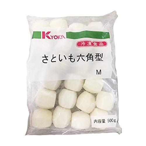 【冷凍】京果食品 里芋六角型 500g 業務用 カット野菜