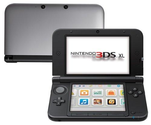 Nintendo 3DS XL - Console Silver, Nero + Argento