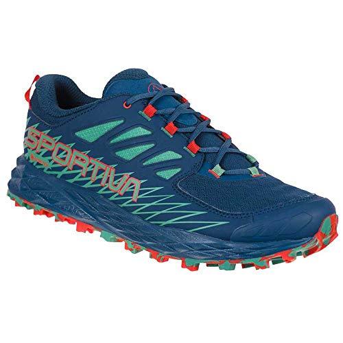 LA SPORTIVA Lycan GTX, Zapatillas de Trail Running Hombre, Opal/Grass Green, 41.5 EU
