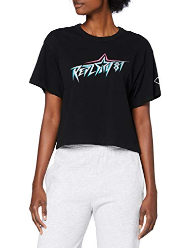 Replay Damen W3515A.000.22662 T-Shirt, 098 Black, L