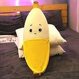 X&MM Netter Bananen-Kissen Lange Kissen-Plüsch-Spielzeug-Puppe Bed Super Soft Doll Doll Mädchen...