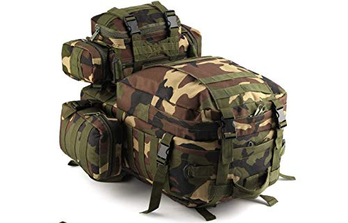 50L Molle Taktisch 3 Day Assault Militär Rucksack/Armee Rucksack/Zelten Tasche - DPM Tarnfarbe, 50 Litre