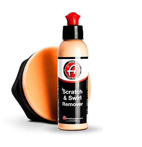 Adam's Car Scratch & Swirl Remover Hand Correction System | Remove & Restore Paint Transfer, Minor Imperfections, Oxidation | Paired with Orange Compound Correction Pad Applicator (4oz)