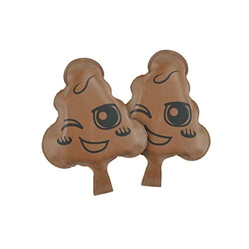 Bongba Novelties Mega Whoopee Cushion Fun Prank Toy, Kids Sound Bag Farting Joke Prank Gag for Joke Party Gift, Set of 2, 16x21.5 cm