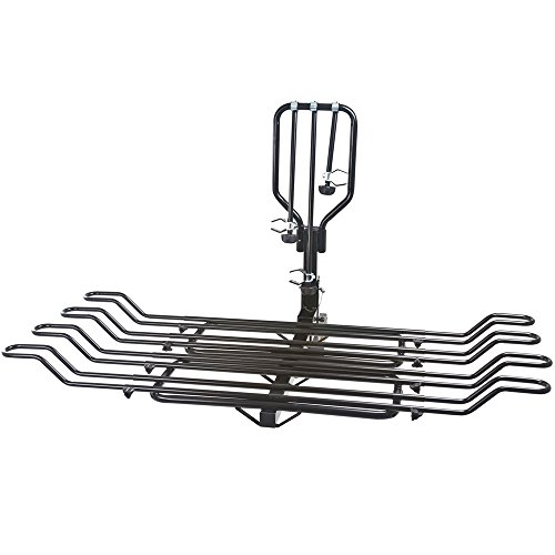 Rage Powersports Elevate BC-08581-2A-2EXT 2-4 Bike Adjustable Wheel-Mount Bicycle Rack for 2' Hitch