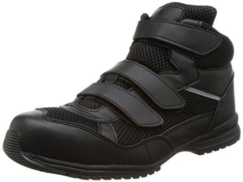 [ミドリ安全] 作業靴 超耐滑先芯入りスニーカー WPT-125 ブラック 22.5cm