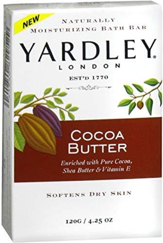 Yardley Bar hydratantes Beurre de cacao 4,25 oz (paquet de 11)