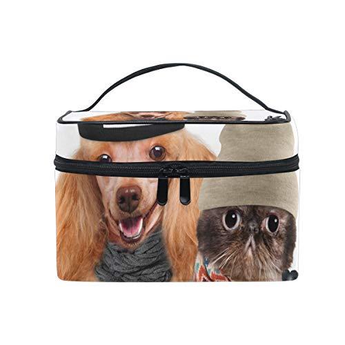 Bolsa de maquillaje, para guardar cosméticos o artículos de tocador de perro...