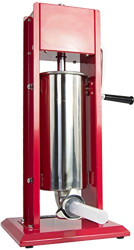 VIVO Sausage Stuffer Vertical 2 Speed Stainelss Steel 5L/11lbs 11 Pound Meat Filler, STUFR-V205