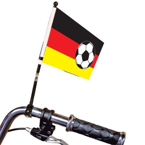 Fahrrad-Fahne Fußball Deutschland 29 cm