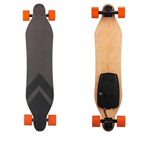 Dapang Eléctrico Longboard: Electric Skateboard con Control Remoto para Adultos, batería 10s1p...