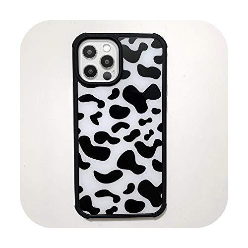 who-care Carcasa rígida para iPhone 12 11 Pro Max Mini Xr X Xs 7 8 Plus Se 2020, diseño de leopardo