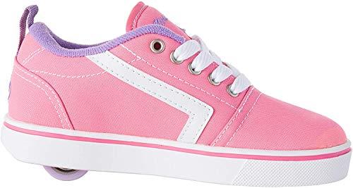 Heelys Unisex-Kinder Fitnessschuhe, Mehrfarbig (Pink/White/Lilac 000), 34 EU
