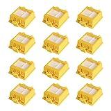 WEYO Juego de 12 Filtros iRobot Roomba 700750 760 765 770 772 772e 774 775 776 776p 780 782 782e 785 786 786p 790 Recambio kit de accesorios para iRobot