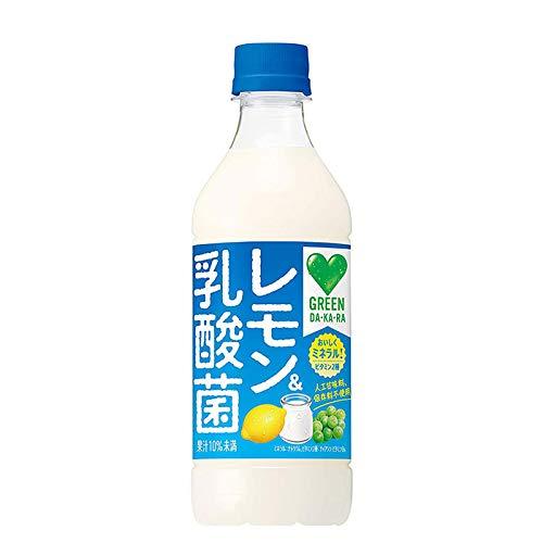 サントリー グリーンダカラ GREEN DAKARAレモン&乳酸菌 430ml 24本 2ケース