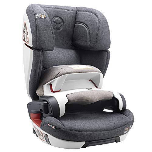 Kindersitz 9-36kg mit Isofix, mit Fangkörper Norm ECE R44/04 Gruppe 1/2/3 (Maximale Sicherheit für Ihr Baby 9-36kg) - Autositz, Sitzerhöhung Autokindersitz - Babys und Kinder