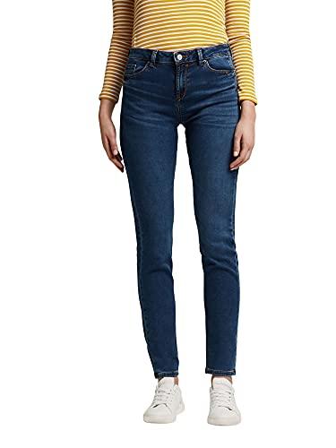 ESPRIT Damen 991EE1B313 Jeans, 902/BLUE MEDIUM WASH, 27/32