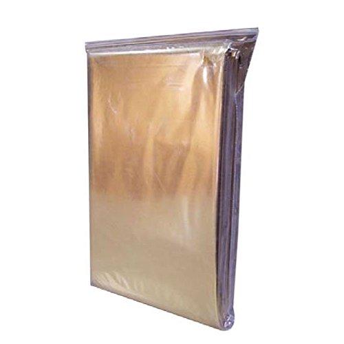 Manta de salvamento de emergencia o rescate, protege del frio el calor y la humedad Oro y Plata