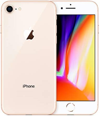 (Renewed) Apple iPhone 8, Fully Unlocked, 256GB – Gold